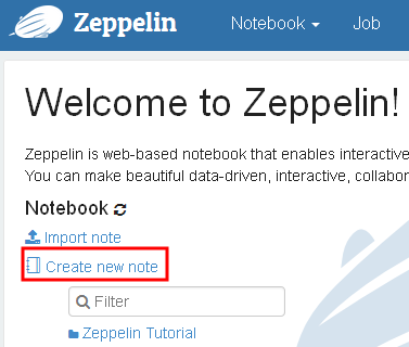 Using Zeppelin Notebook for Spark | kitwaicloud github io
